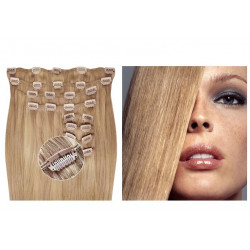 Clip in hair extensions ash blonde max volume 180G 20""