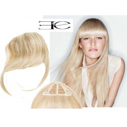 Clip in fringe N613 (light blonde) 100% natural hair extensions