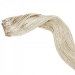 """Weft hair extensions light chestnut 18"""""""