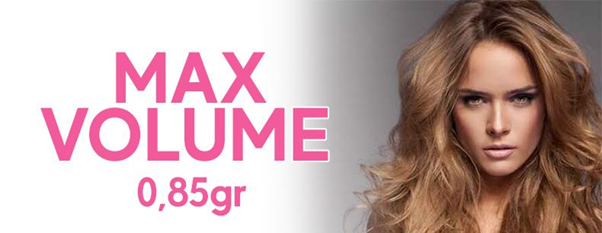 Pre bonded hair extensions max volume wavy 0.85 G 24 inch