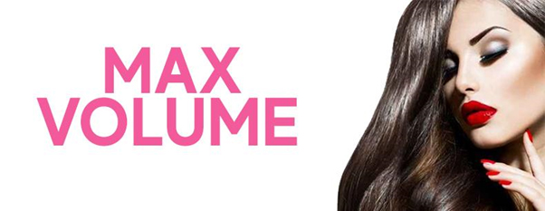 Clip in hair extensions straight max volume 180g