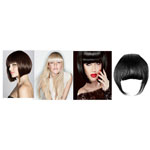 Fringes with clips